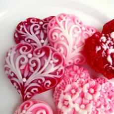 {what I love today: soapy hearts}