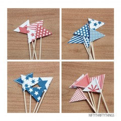 "{free printable: 4<sup>th</sup> of july bunting <span class=""amp"">&</span> flags}"