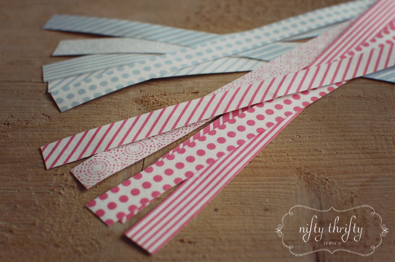 DIY Washi Tape from {nifty thrifty things}
