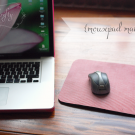 mousepad makeover from {nifty thrifty things}