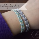 DIY friendship bracelet @ {nifty thrifty things}