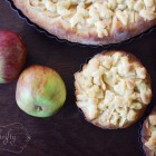 homemade apple cake from {nifty thrifty things}