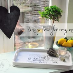 {image transfer tray makeover}