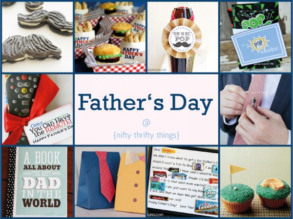 10 last-minute father's day gift ideas on {nifty thrifty things}