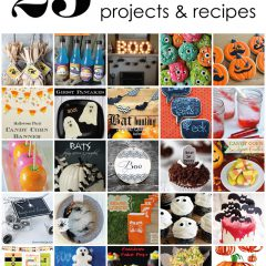 "{25 halloween projects <span class=""amp"">&</span> recipes}"