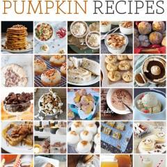 {25 delicious pumpkin recipes}