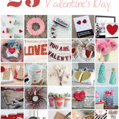 {25 fantastic crafts for valentine's day}