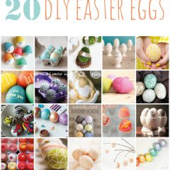 {20 diy easter egg ideas}