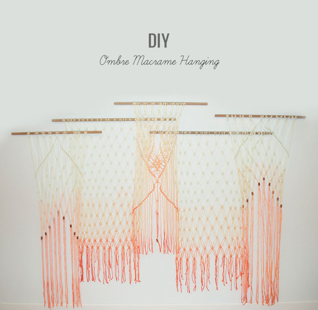 10 DIY Macramé Projects at {nifty thrifty things}