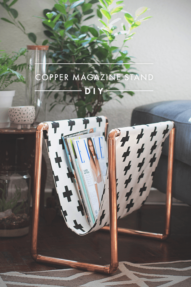 10 Creative DIY Pipe Projects von {nifty thrifty things}