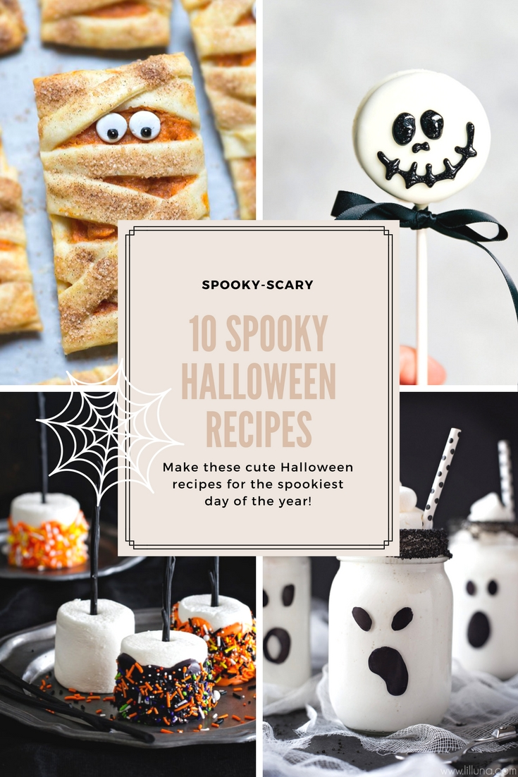 10 gruselige Halloween Rezepte bei {nifty thrifty things}